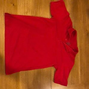 Chaps 14/16 boys red polo